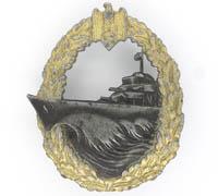 Navy Destroyer Badge by S.H.u.Co.