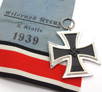 2nd Class Iron Cross in Issue Packet by R. Wagner & Lange