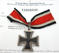 Knights Cross of the Iron Cross by Steinhauer & Lück with COA