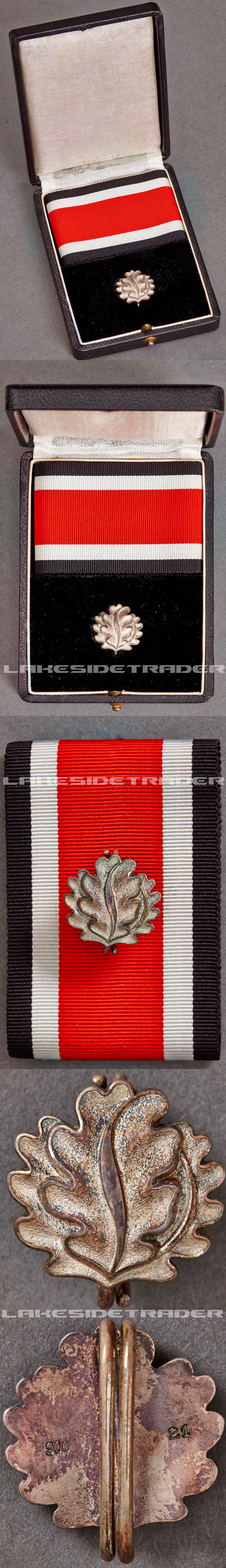 Cased Oakleaves to the Knights Cross of the Iron Cross by Godet