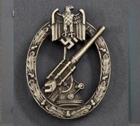 Army/SS Flak Badge by C.E. Juncker