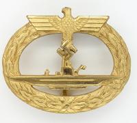 Navy U-Boat Badge by B.H. Mayer