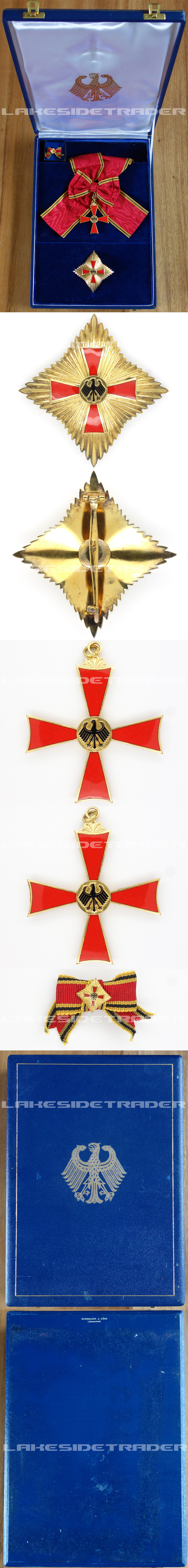 Cased Order of Merit of the Federal Republic of Germany by S&L