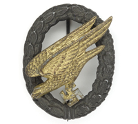 Luftwaffe Paratrooper Badge by PM