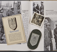 Cholm Shield, Postcard, Photo & Presentation Book 1943