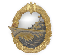 Navy Destroyer Badge by Schwerin