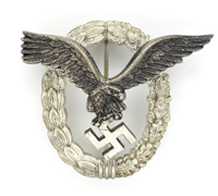 Luftwaffe Pilot Badge by GWL