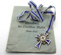 Mother Cross in Silver with Issue Packet