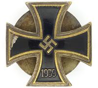 Screwback - 1st Class Iron Cross by Otto Schickle