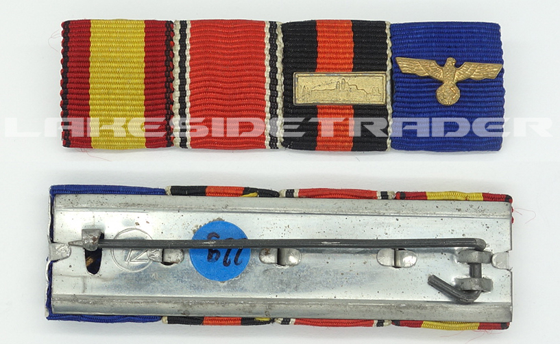 4 Place ribbon Bar