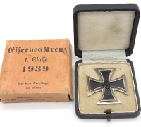 Cartoned & Cased 1st Class Iron Cross 1st Class by S&L