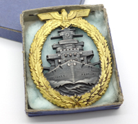 Minty – Cased High Seas Fleet Badge by Schwerin