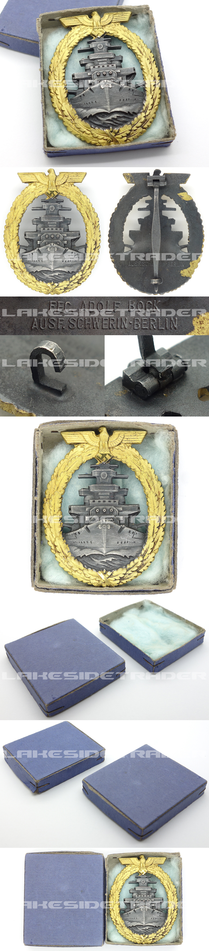 Minty – Cased High Seas Fleet Badge by Schwerin
