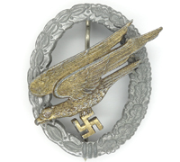 Paratrooper Badge by Assmann Marked 2