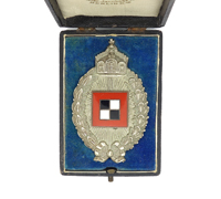 Cased Imperial Prussian Observer Badge