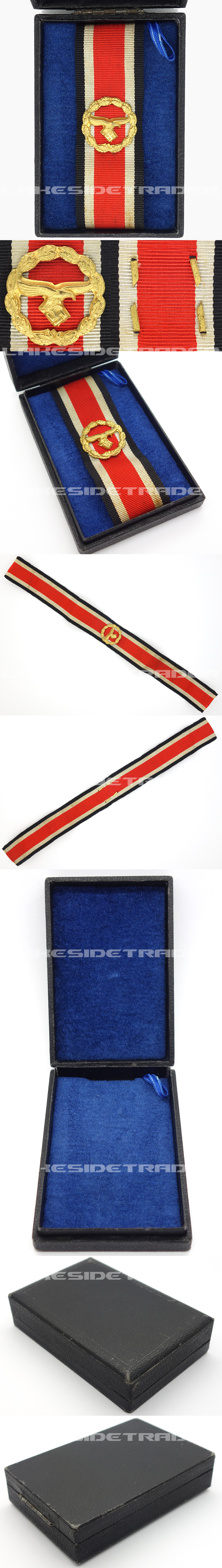 Cased Luftwaffe Honor Roll Clasp