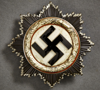 German Cross in Silver by Zimmermann