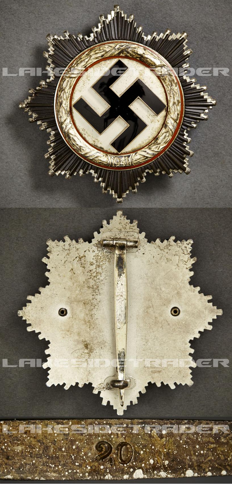 German Cross in Silver by Zimmermann