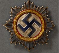 A German Cross, Gold Grade, Heavy Version, by Deschler & Sohn of München