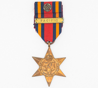 British Burma Star with Pacific Clasp