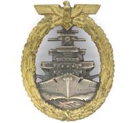 Navy High Seas Fleet Badge by Schwerin