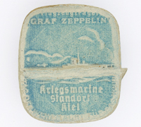 Graf Zeppelin Aircraft Carrier WHW Pin