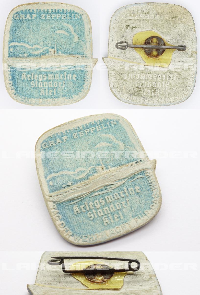 Graf Zeppelin Aircraft Carrier WHW Pin