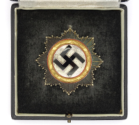 Cased German Cross in Gold by 134
