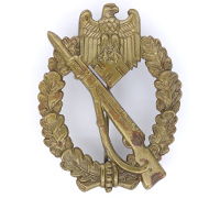 Bronze Infantry Assault Badge by Schickle
