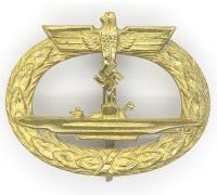 Navy U-Boat Badge by Schwerin