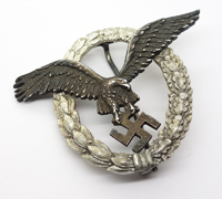 J1 - Luftwaffe Pilot Badge by C.E. Juncker