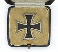 Cased 1st Class Iron Cross by 65