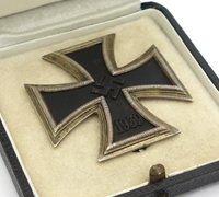 Cased 1st Class Iron Cross by 20