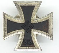 1st Class Iron Cross Screwback by L/18