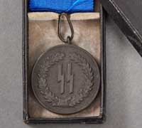 SS 4-Year Long Service Award in its Original Case of Issue