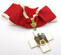 1st Class Social Welfare Neck Cross Decoration