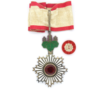 Japanese Order of the Rising Sun 3rd Class