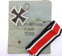 2nd Class Iron Cross by 65 Klein & Quenzer in Packet