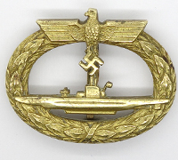 U-Boat Badge by Schwerin & Sohn