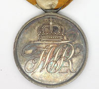 Prussian Military Honor Medal 2nd Class 1814