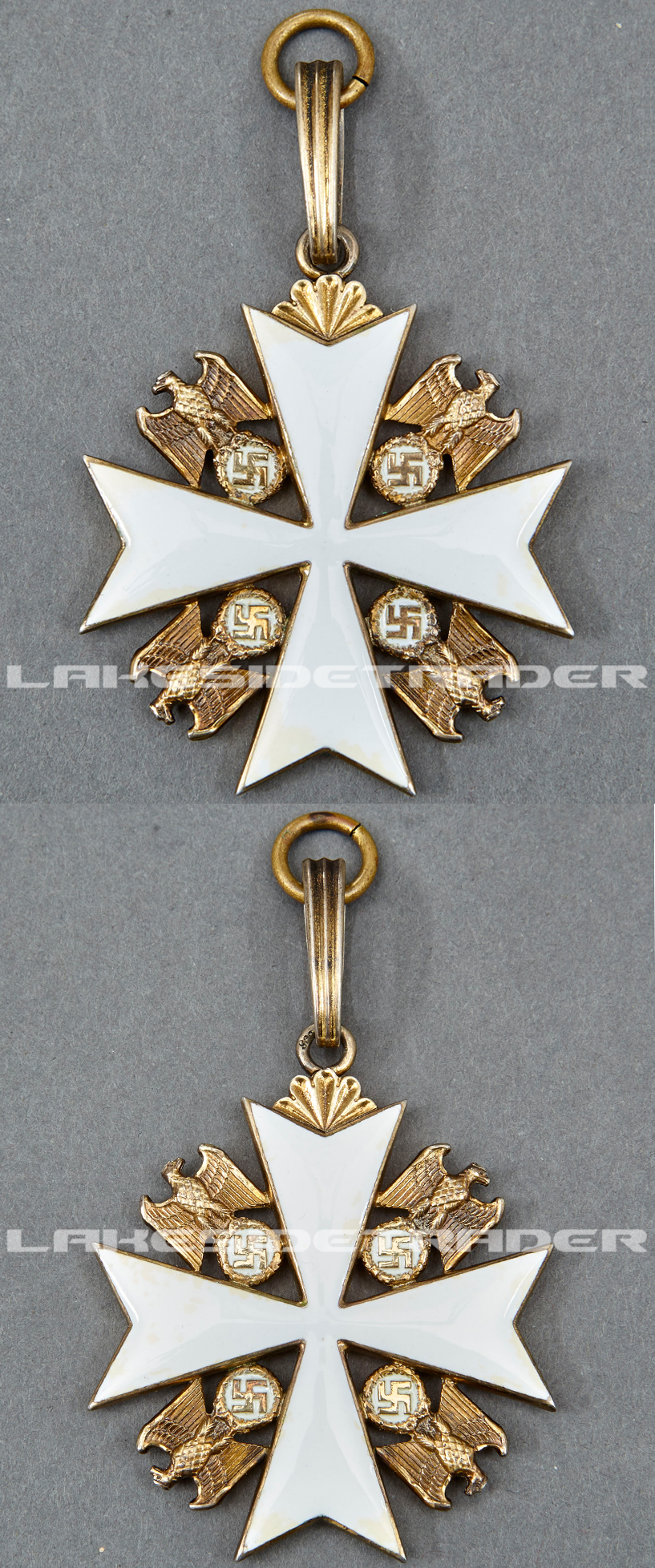 First Grade Order of the German Eagle by Godet & Co.