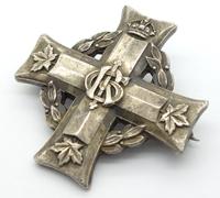 Canadian Memorial Cross GRI – Pin Back
