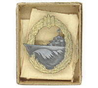 Unissued - Navy Destroyer Badge by S.H.u.Co.