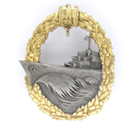Mint - Navy Destroyer Badge by GWL