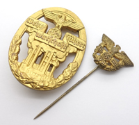 Defense Economy Leader Badge with Lapel Badge