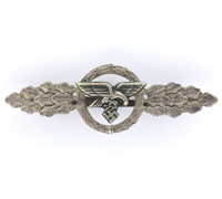 Luftwaffe Transport and Glider Clasp in Silver