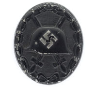 Black Wound Badge by 93