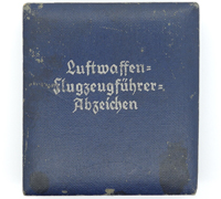 Issue Case for a Luftwaffe Pilot Badge