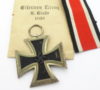 2nd Class Iron Cross by 27 in Issue Packet