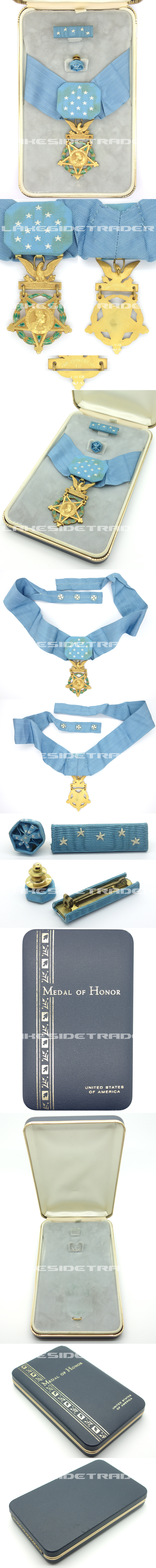 Unissued American Army Medal of Honor